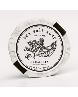 Kopa Kauai - Plumeria Sea Salt Soap