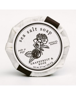 Kopa Kauai - Grapefruit & Rose Sea Salt Soap