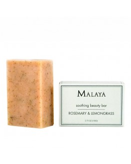 Malaya Organics - Rosemary & Lemongrass – Soothing Beauty Bar