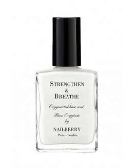 Nailberry - Strengthen & Breathe Oxygenated Base Coat And Nail Strengthener