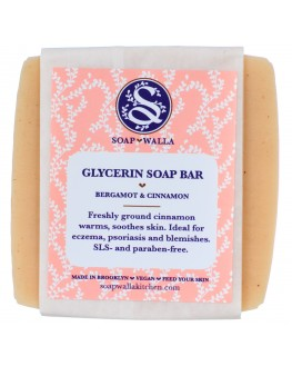 SoapWalla - Bergamot & Cinnamon Soap Bar